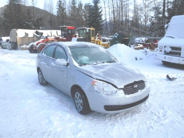 Salvage 2009 Hyundai ACCENT GLS for sale