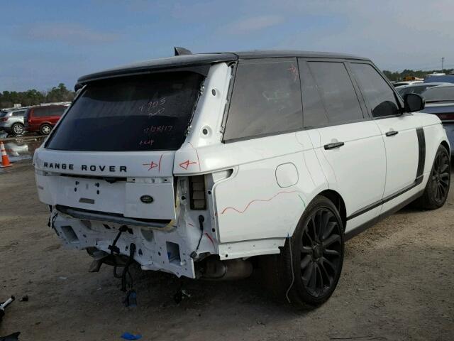 2017 land rover range rover supercharged photos tx houston salvage car auction on fri feb. Black Bedroom Furniture Sets. Home Design Ideas