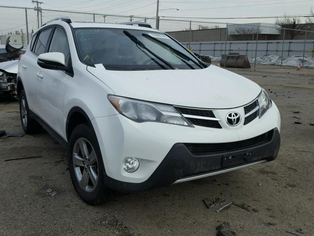 2015 toyota rav4 xle for sale oh dayton salvage cars copart usa. Black Bedroom Furniture Sets. Home Design Ideas