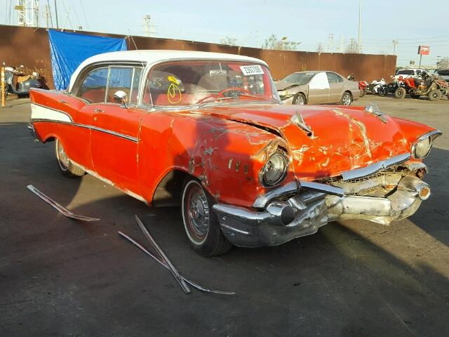 Auto Auction Ended On Vin Vc57b215627 1957 Chevrolet Bel Air In Ca