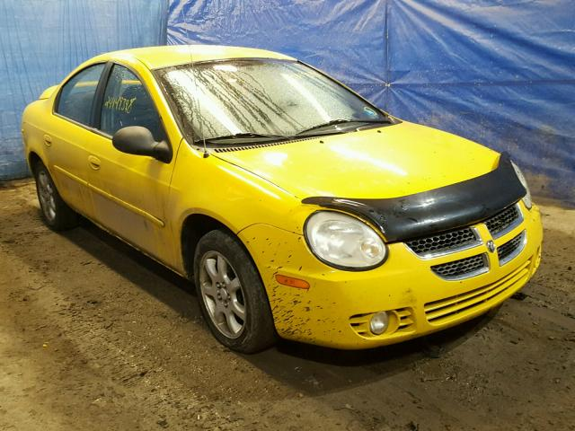 2004 DODGE NEON SXT For Sale   PA - PITTSBURGH EAST - Salvage Cars