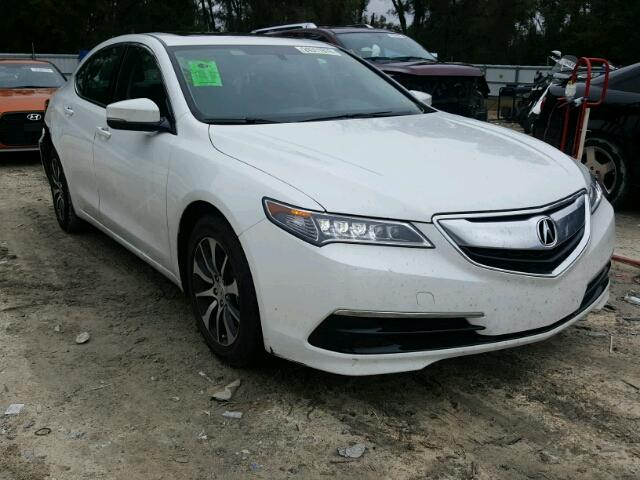 2017 acura tlx for sale fl ocala salvage cars copart usa. Black Bedroom Furniture Sets. Home Design Ideas