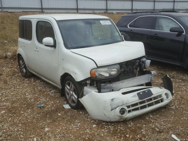 Jn8az28r39t131741 2009 White Nissan Cube Base On Sale In Mo St