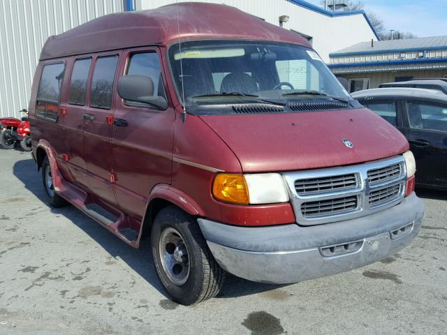 Dodge Dealers Albany Ny >> 2001 DODGE RAM VAN B1500 For Sale   NY - ALBANY   Mon. Feb ...