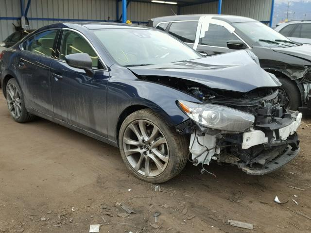Mazda salvage cars for sale: 2015 Mazda 6 Grand Touring