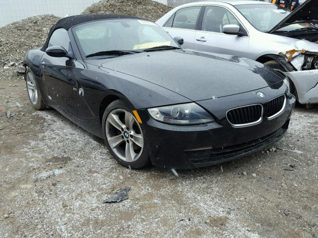 2006 bmw z4 3 0 for sale in indianapolis salvage cars copart usa. Black Bedroom Furniture Sets. Home Design Ideas
