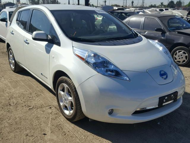 2012 nissan leaf sv for sale ca los angeles salvage. Black Bedroom Furniture Sets. Home Design Ideas