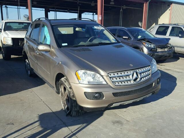 2008 MERCEDES-BENZ ML 350 3.5L