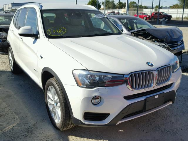 2015 BMW X3 SDRIVE2 2.0L