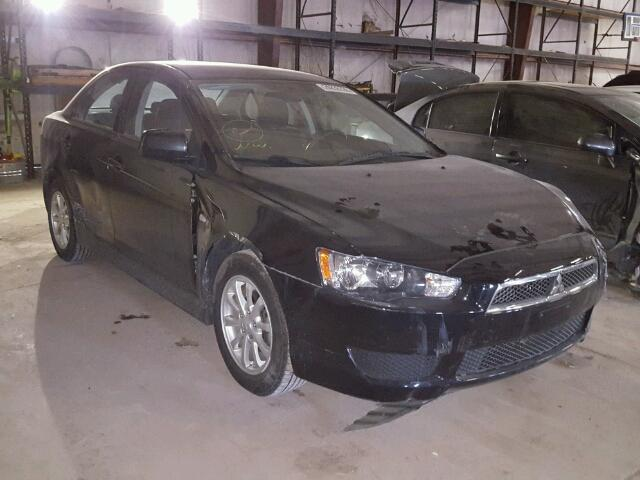 2012 mitsubishi lancer es es sport for sale ia davenport salvage cars copart usa. Black Bedroom Furniture Sets. Home Design Ideas