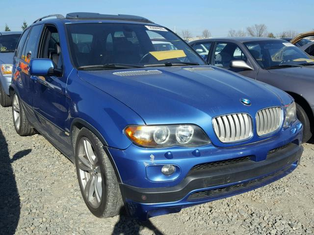 5UXFA93574LE81759 | 2004 BLUE BMW X5 4.8IS on Sale in CA ...