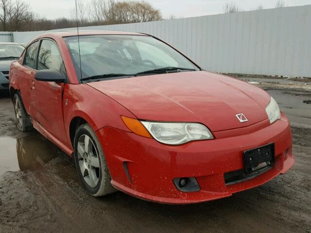 1g8aw15b06z202239 2006 Red Saturn Ion Level On Sale In Oh