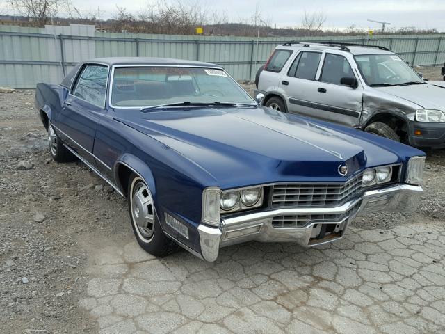 Auto Auction Ended On Vin H7190600 1967 Cadillac Eldorado In Ks