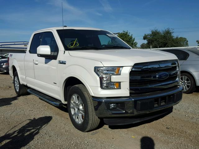 2016 ford f150 super cab for sale ca san diego salvage cars copart usa. Black Bedroom Furniture Sets. Home Design Ideas