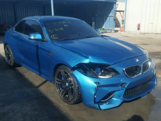 2016 Bmw M2 Sale At Copart Middle East