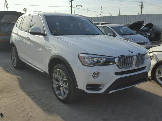 2017 bmw x3 sdrive28i for sale ca sun valley salvage. Black Bedroom Furniture Sets. Home Design Ideas