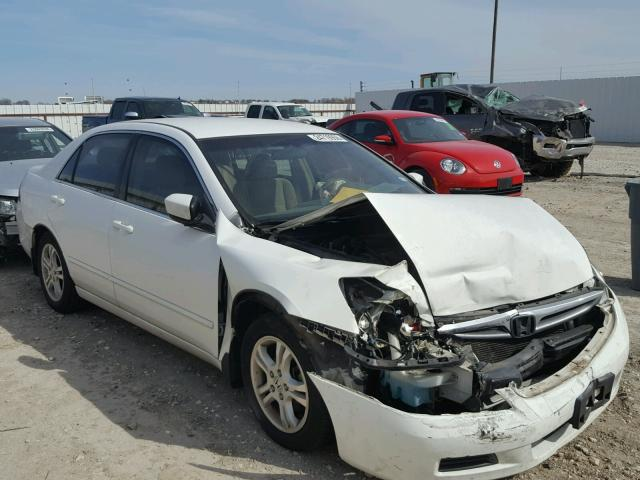 2007 honda accord se for sale tx waco salvage cars copart usa. Black Bedroom Furniture Sets. Home Design Ideas