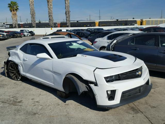 Auto Auction Ended on VIN: 2G1FZ1EP6D9806022 2013 CHEVROLET CAMARO ...