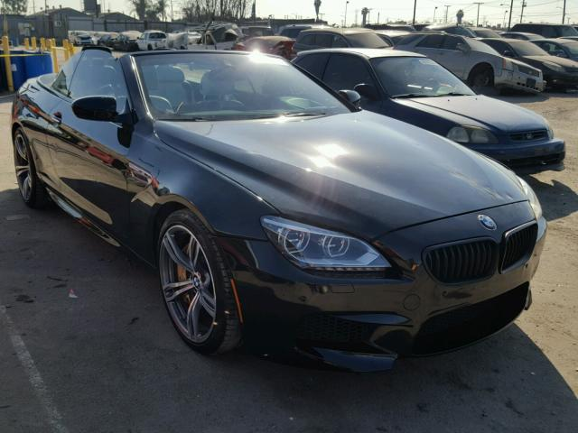 2014 Bmw M6 Rebuilt Salvage For Sale: Salvaged Vandalized BMW M6 For Auction
