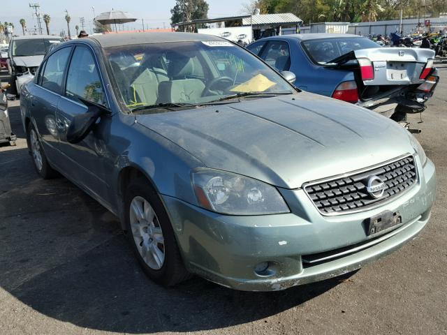 1n4al11dx5n443873 2005 Green Nissan Altima S On Sale In Ca Van