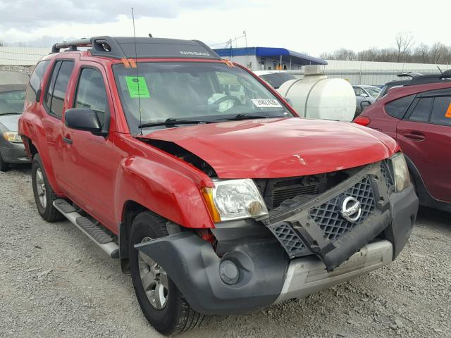 Auto Auction Ended On Vin 5n1an08ux9c509419 2009 Nissan Xterra Off