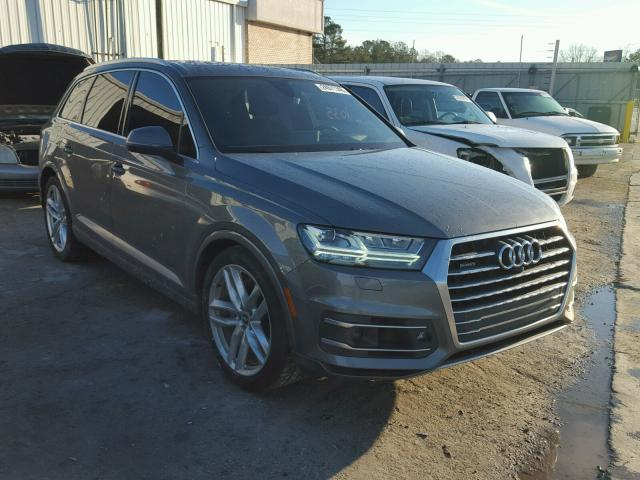 2017 audi q7 prestige for sale al montgomery salvage. Black Bedroom Furniture Sets. Home Design Ideas