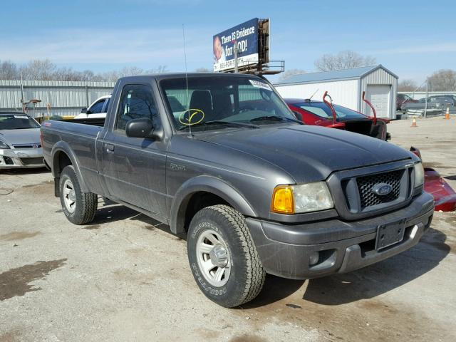 Salvage cars for sale from Copart Wichita, KS: 2005 Ford Ranger