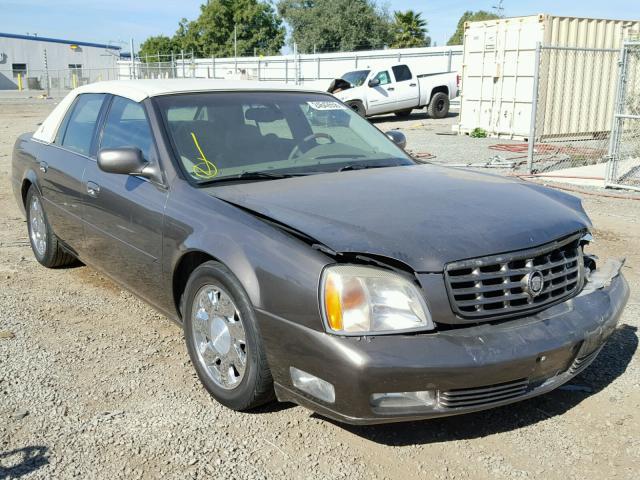 2001 Cadillac Deville Dts Photos Salvage Car Auction Copart Usa