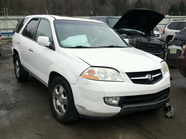 2003 acura mdx for sale pa pittsburgh north salvage cars copart usa. Black Bedroom Furniture Sets. Home Design Ideas