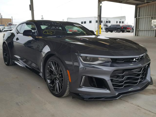 2018 Chevrolet Camaro Zl1 For Sale Tx Dallas Salvage