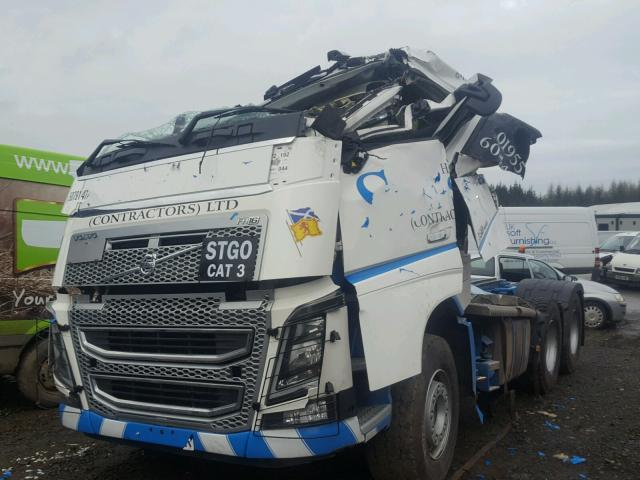 2017 VOLVO FH for sale at Copart UK - Salvage Car Auctions