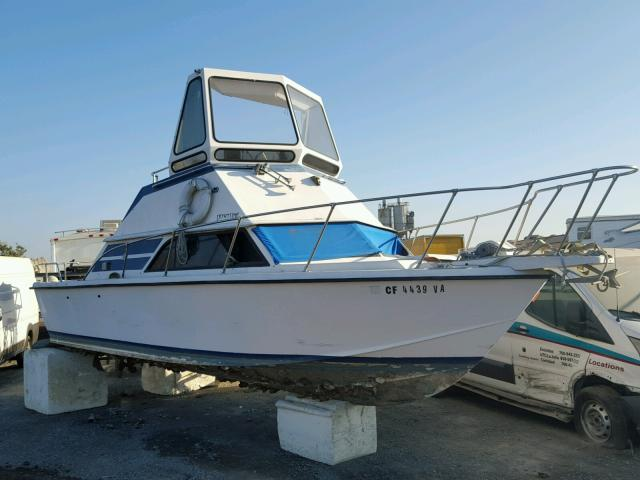 Salvage 1979 Boat MARINE LOT for sale