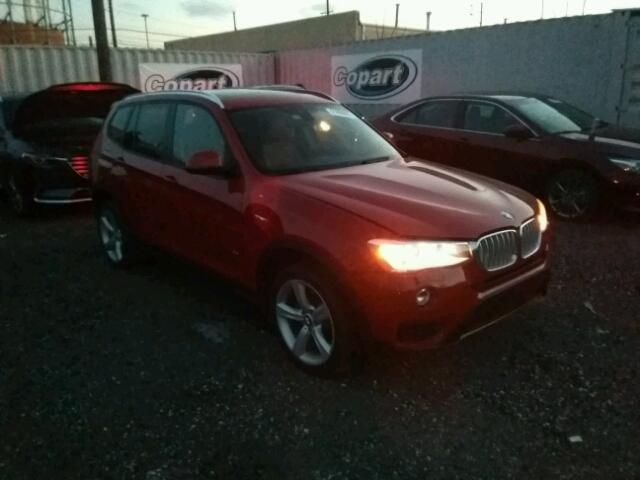 2017 bmw x3 xdrive35i for sale ny newburgh salvage. Black Bedroom Furniture Sets. Home Design Ideas