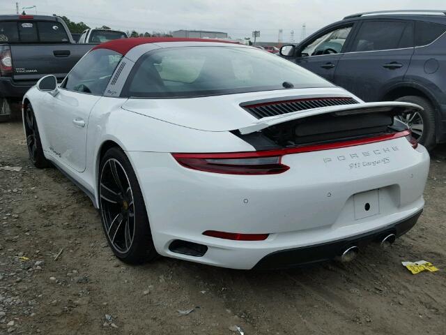 2017 Porsche 911 Targa White