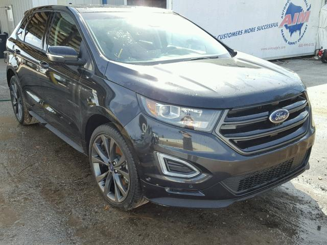 2015 ford edge sport for sale fl tampa south salvage cars copart usa. Black Bedroom Furniture Sets. Home Design Ideas