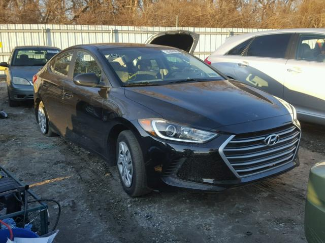 Salvage 2017 HYUNDAI ELANTRA - Small image. Lot 25308688