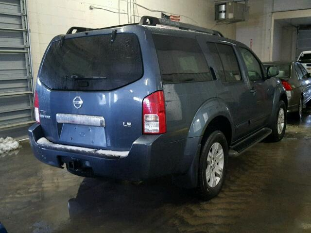 5n1ar18w35c776911 2005 Blue Nissan Pathfinder On Sale In Pa