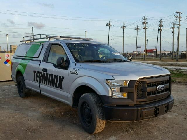 Salvage 2016 Ford F150 for sale