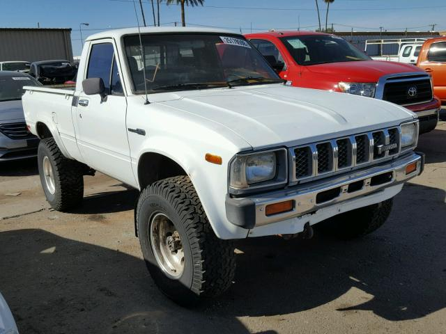 Auto Auction Ended On Vin Jt4rn38s6d0079812 1983 Toyota Pickup Rn3 In Az Phoenix