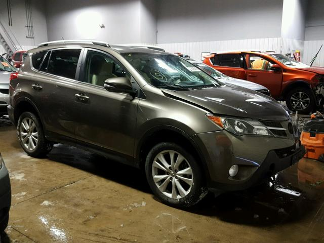 2014 toyota rav4 limited for sale mn minneapolis north salvage cars copart usa. Black Bedroom Furniture Sets. Home Design Ideas