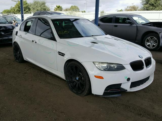Auto Auction Ended on VIN: WBSVA93568E216179 2008 BMW M3 in CA - SAN ...