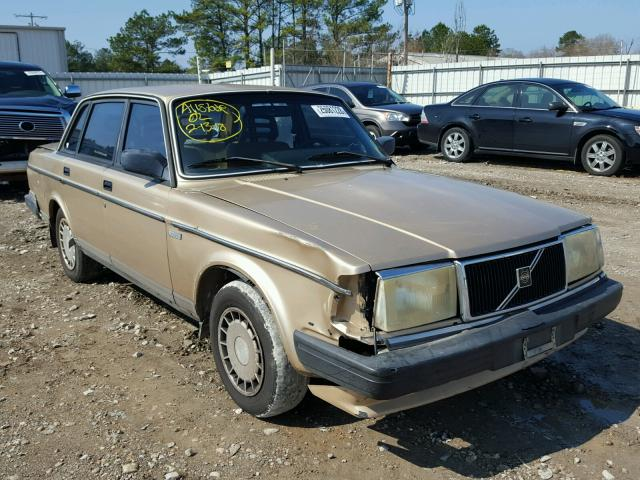 Volvo 240 Base salvage cars for sale: 1990 Volvo 240 Base
