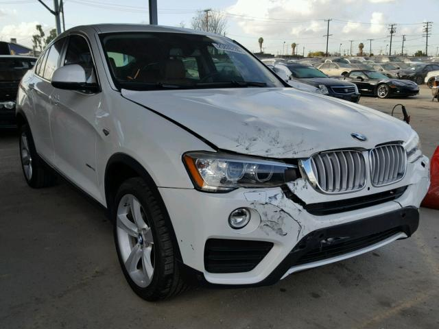 2016 bmw x4 xdrive28i for sale ca los angeles salvage cars copart usa. Black Bedroom Furniture Sets. Home Design Ideas