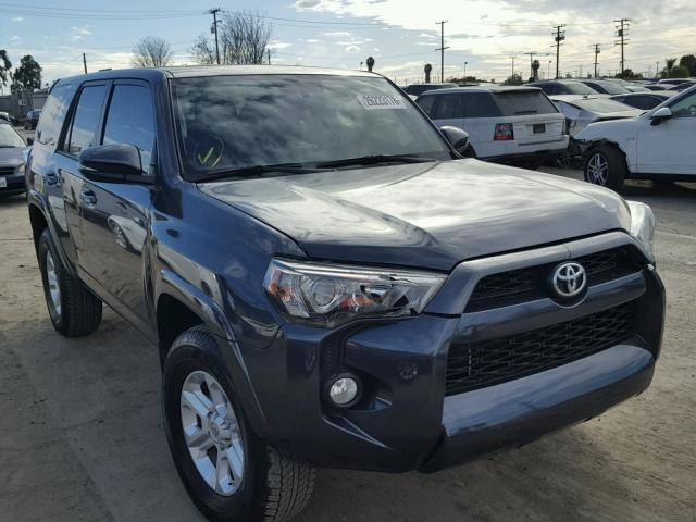 2017 toyota 4runner sr5 sr5 premium for sale ca los angeles salvage cars copart usa. Black Bedroom Furniture Sets. Home Design Ideas