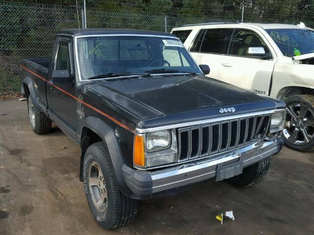 Auto Auction Ended On Vin 1jtwl6575gt213396 1986 Jeep Comanche X In