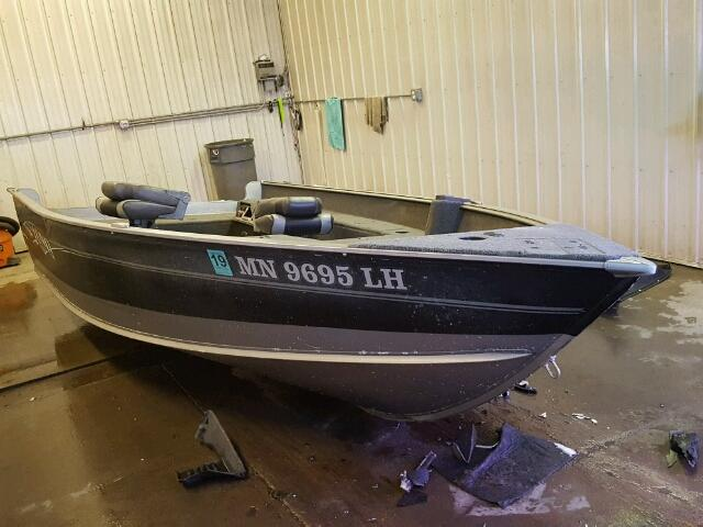 Salvage 2015 Lund Z16PG for sale