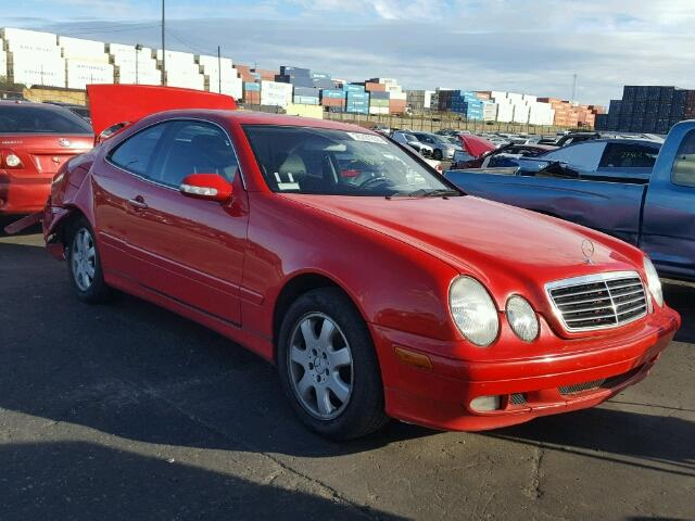 2002 Mercedes Benz Clk 320 3 2l