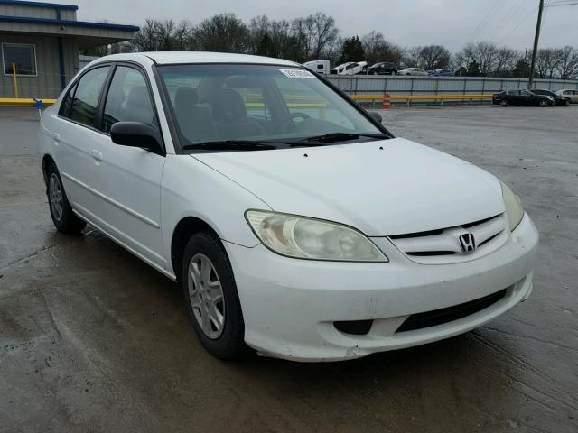 2005 honda civic gx for sale tn nashville salvage cars copart usa. Black Bedroom Furniture Sets. Home Design Ideas