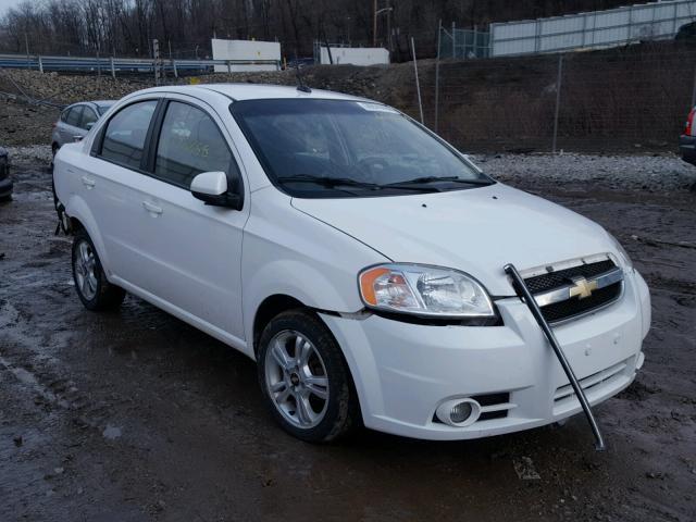 Auto Auction Ended On Vin Kl1tg5de0ab129560 2010 Chevrolet Aveo Lt