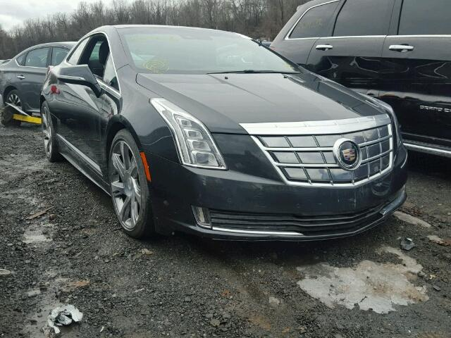 2014 cadillac elr luxury for sale ny newburgh salvage cars copart usa. Black Bedroom Furniture Sets. Home Design Ideas